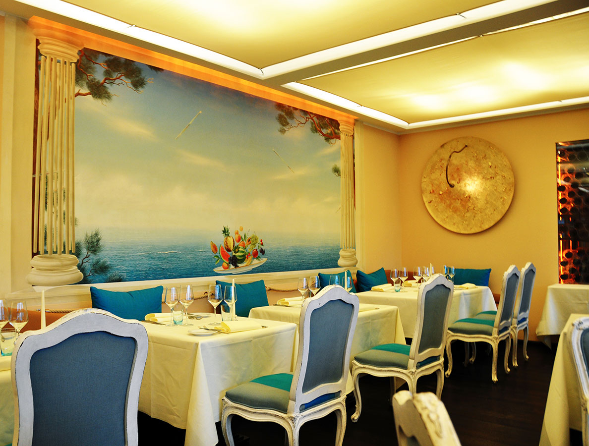 Fancy Restaurant Wall Decoration Vignette - Wall Art Collections ...
