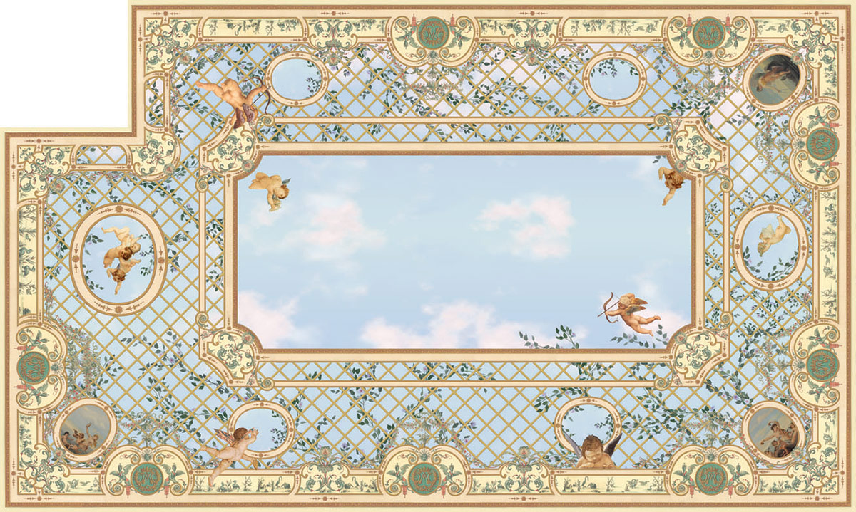 victorian ceiling – dreamworlds, the fine art of wall decoration